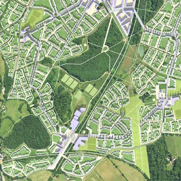 Plasdwr site plan map