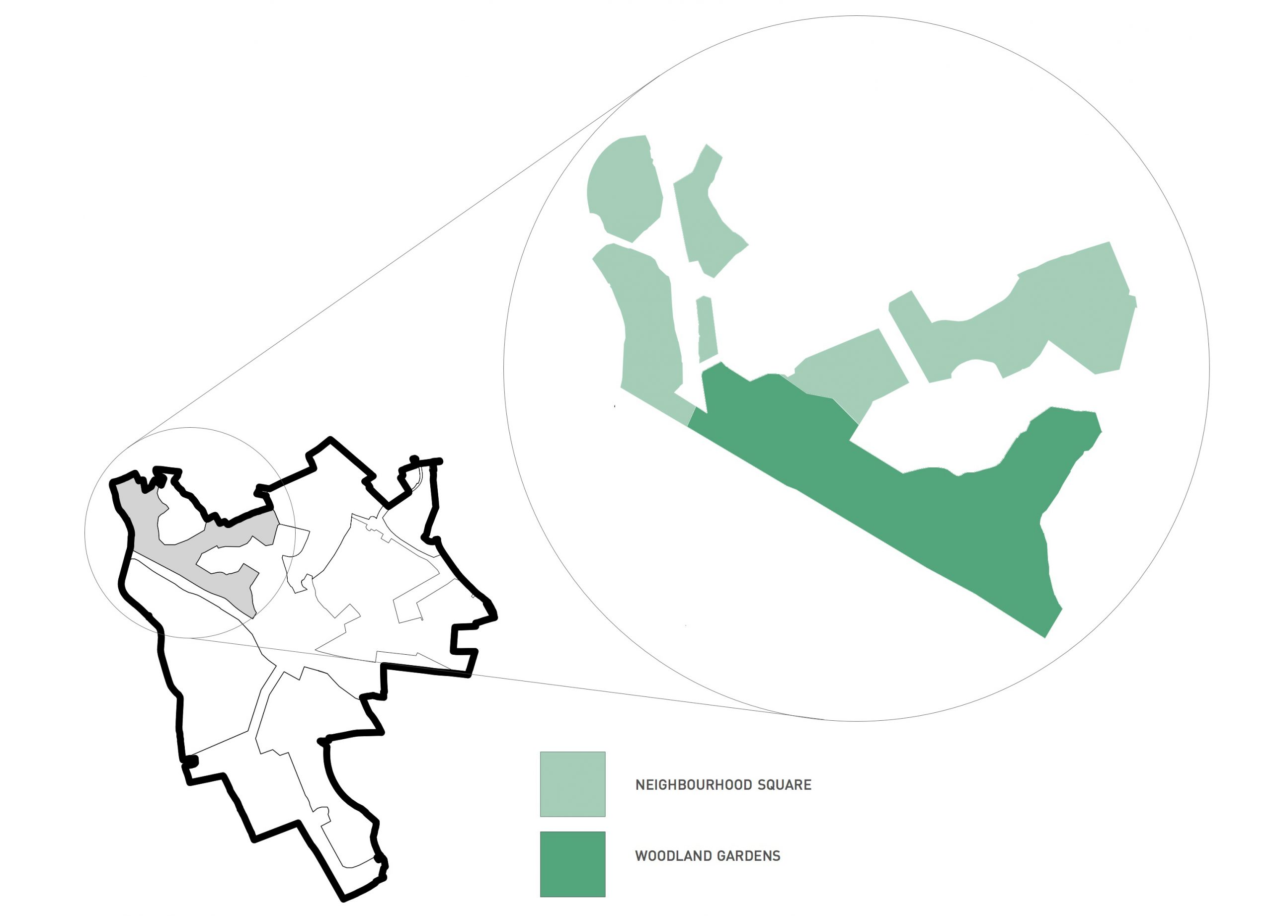 Hafod Map