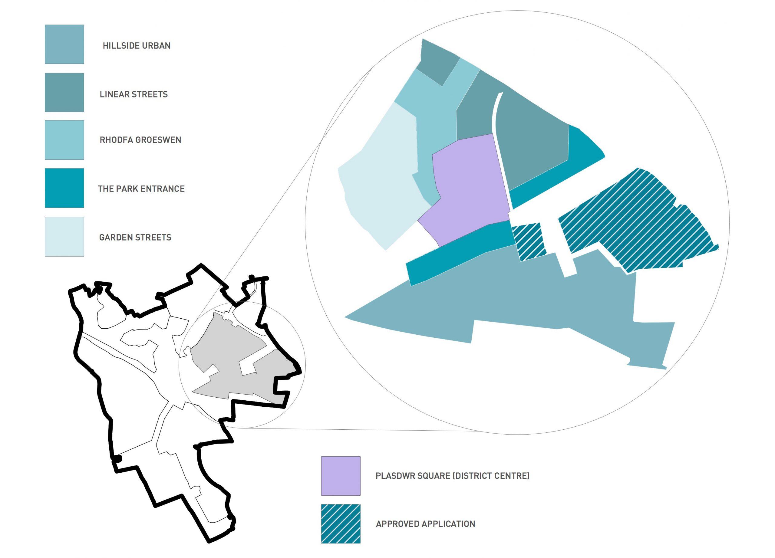 Groeswen Map