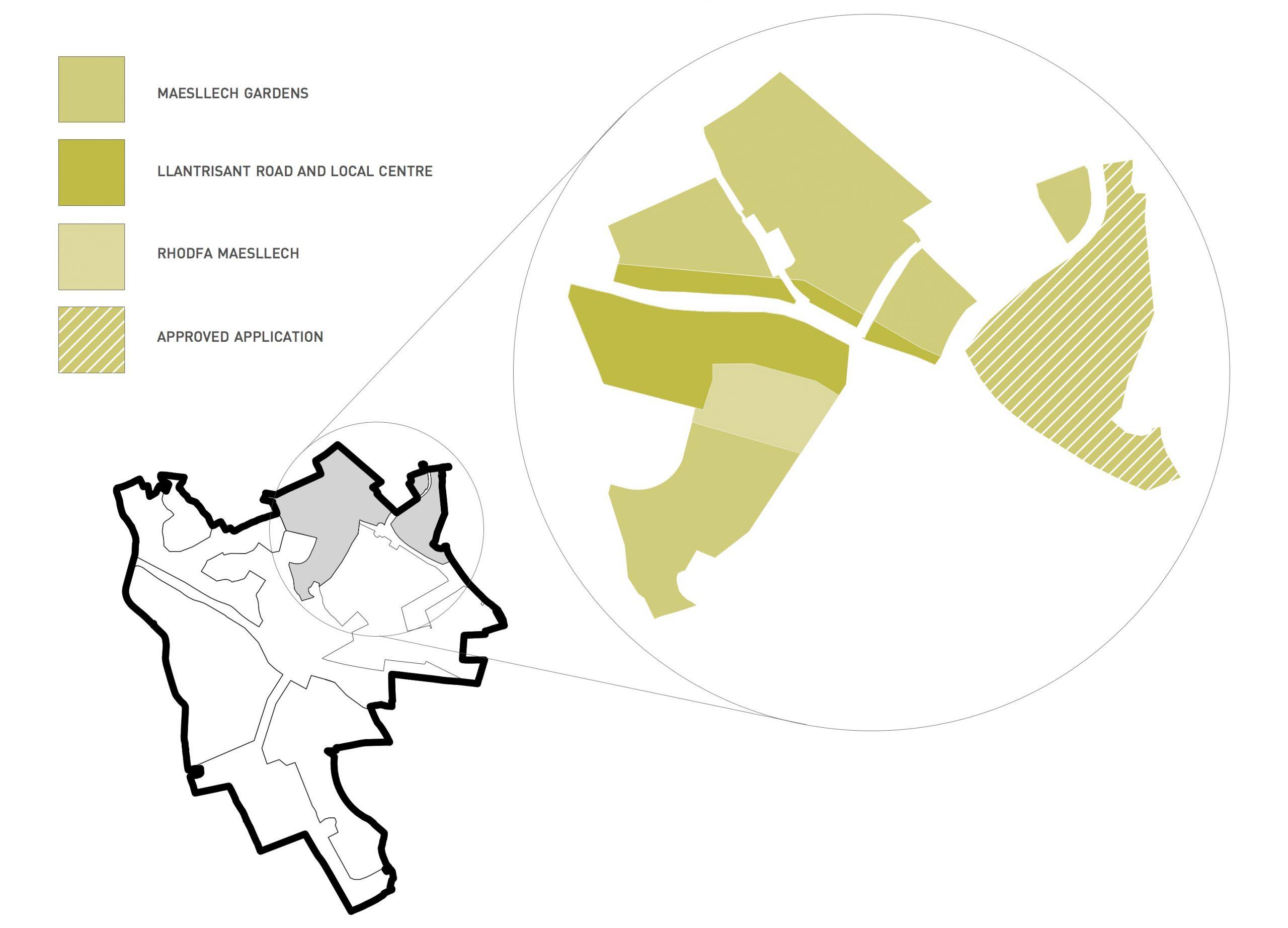 Maesllech Map